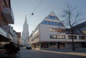 Ulm, Walfischgasse 11<br /> Praxis von Burkhart Tuemmers von 1967 - 1992